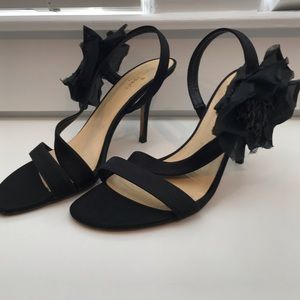 Kate Spade Strappy Heels w/ duster(Holiday Party)